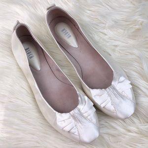 Bloch Satin Antoinette Ballet Flats Wedding bridal